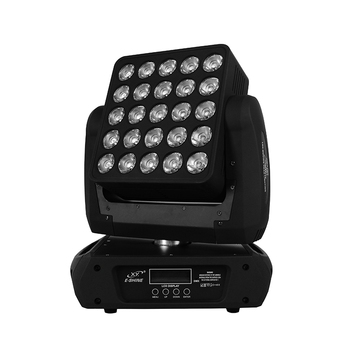 Big power led stage lights moving head light 25pcs 12w led matrix with dmx