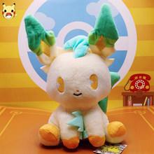 Eevee Пикачу Плюшевые игрушки Аниме игра эльф кулон животные мягкие игрушки комбинация коллекция подарки для детей(Китай)