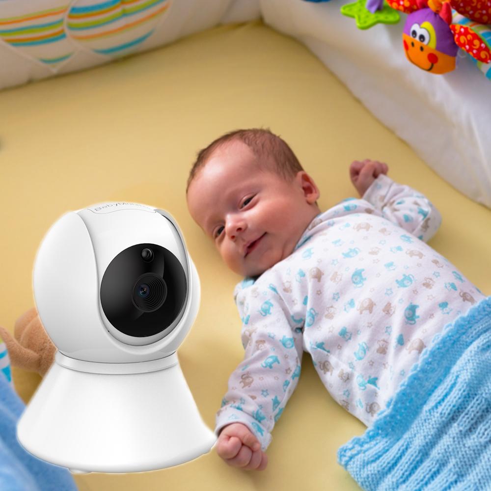 Радионяня аудио и видео мониторинга 3,5 дюймов мини колыбели работы в режиме воспроизведения музыки беспроводной монитор младенца