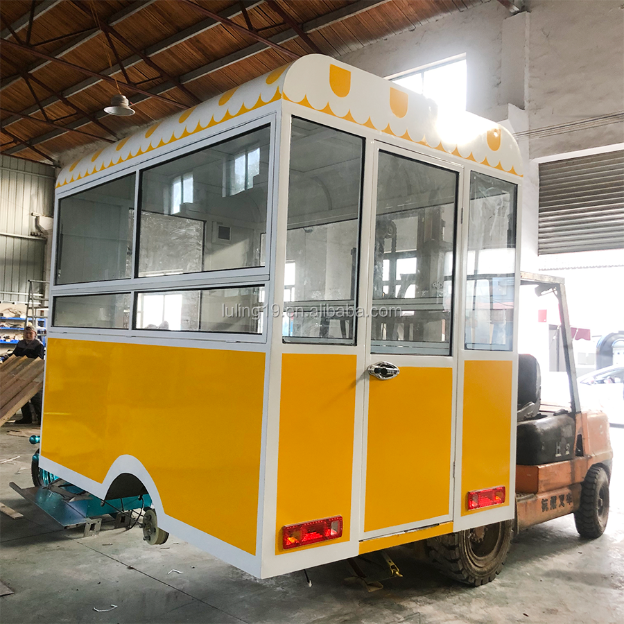 electric tricycle food cart vending mobile donut truck food truck kitchen fried chicken food cart