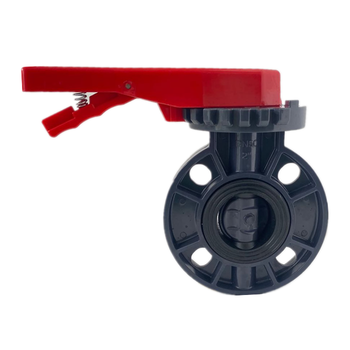 fast delivery drain irrigation plastic handle wafer butterfly valves pvc
