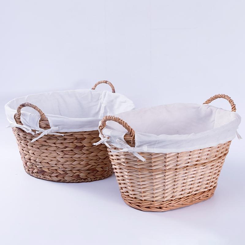 Новое поступление, большие плетеные корзины для белья