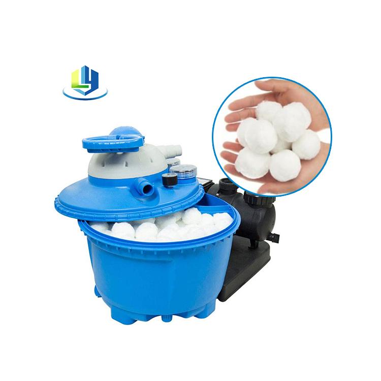 Biodegradable материал фильтра шарика волокна для бассейна