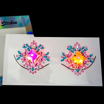 Crystal Rhinestone body jewelry Tattoo Stickers Face Gems designs for Body
