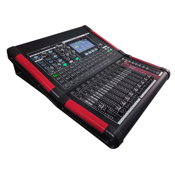 SPE High quality professional digital audio mixer with amplifier mixer USB function 16 channel digital mixer built in sound card