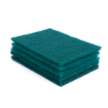 DH-C1-2 kitchen dish washing wire w90 scouring pads soft sponge with handle green scrub sponge roll