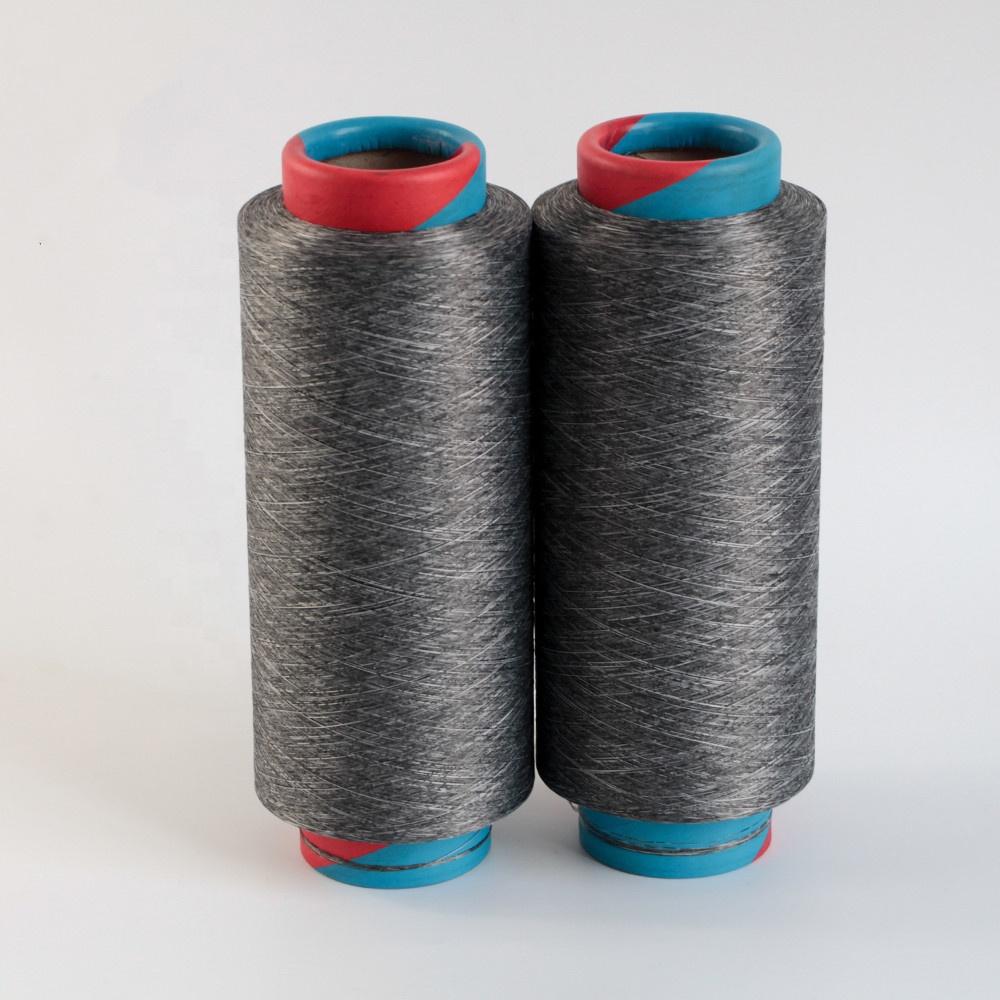 35S Melange Yarn Polyester DTY Cotton Like