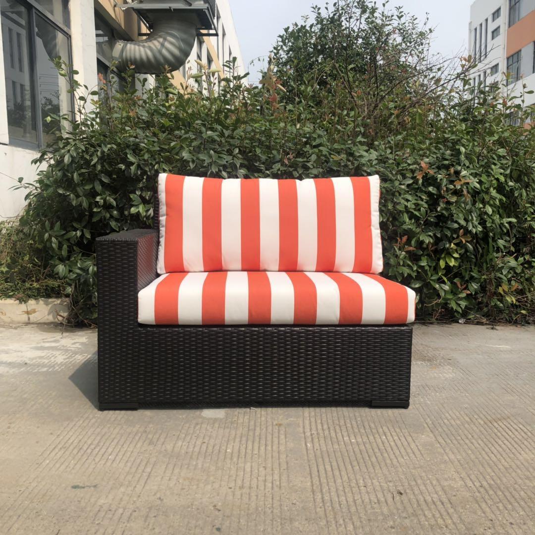 Роскошная уличная плетеная мебель из ротанга, наборы диванов с подушками, оптовая цена
