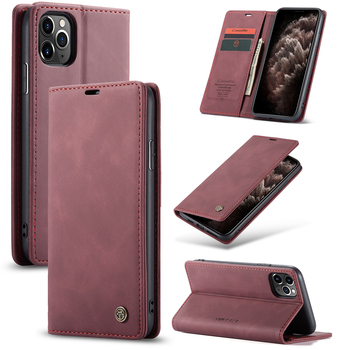 CaseMe Custom Fashion Magnetic Card Flip Wallet Leather Cell Phone Case For iphone 11 Pro Max X XR XS MAX 6 7 8