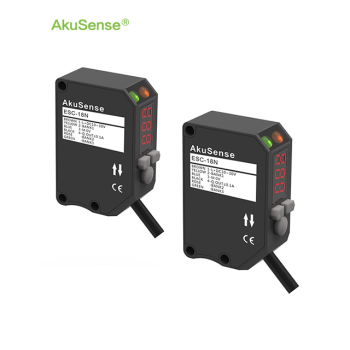 Akusense ESC-18P Diffuse Reflective Color detection with Digital Display photoelectric sensor price