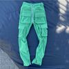 Green pant without Velcro