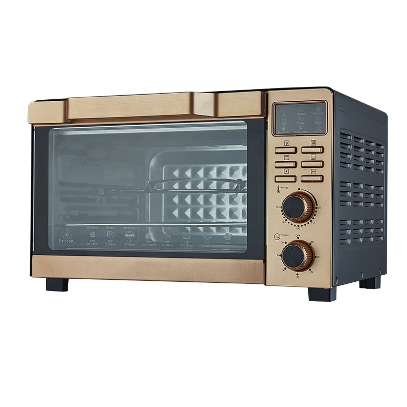 Digital 35L Electric Pizza Baking Oven With Rotisserie Convection
