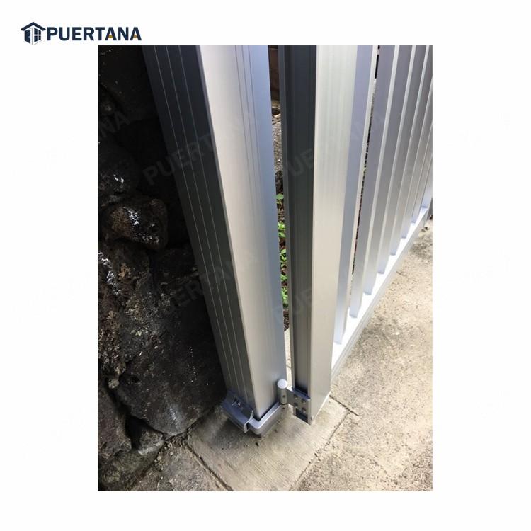 Вилла, автоматические ворота, алюминиевые складные ворота, автоматические электрические подъездные ворота
