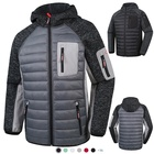 Mens Custom Mens Cotton Fleece Outdoor Warm Light Weight Sport Exercise Waterproof Winter Quilted Padded Jacket