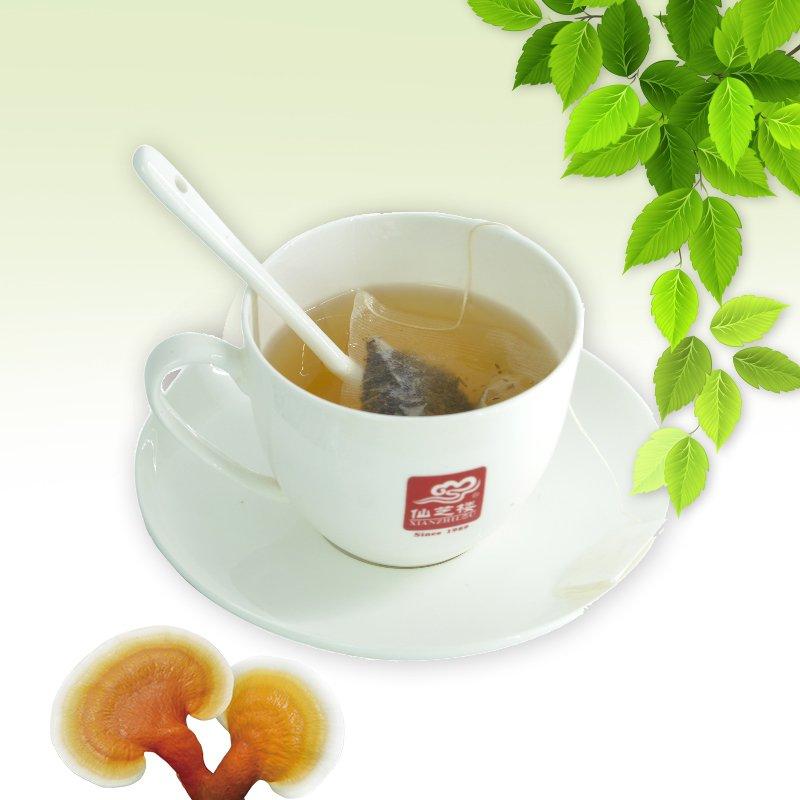 USDA Organic Ganoderma Lucidum Mushroom Lingzhi ling zhi Green Tea Bag Instant Herbal health Tea to Boost Immune System - 4uTea   4uTea.com