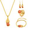 Gold 3 jewelry set-565122932239