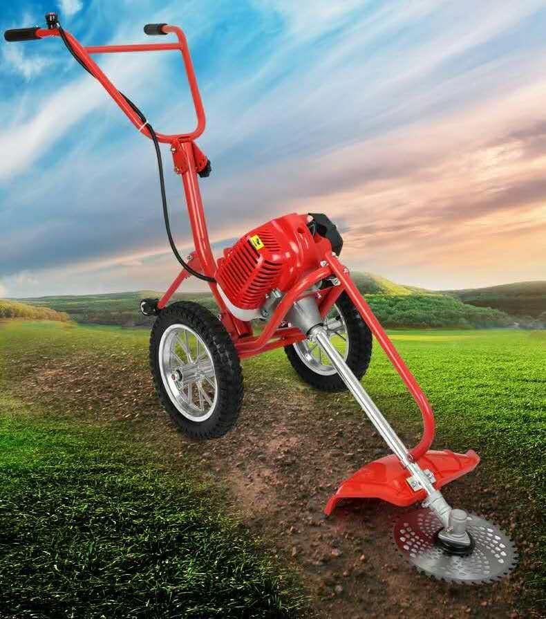 máy thu hoạch cỏ