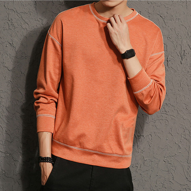 New Fashion Hemp Cotton Men Pullover Fleece Men Sweater 3d print sweater custom mens sweater