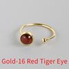 Gold-16 Red Tiger Eye