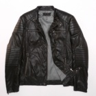 Mens Leather Jacket Wholesale Outdoor Streetwear Custom Winter Fashion Casual Black Mens Motorcycle Leather Jacket