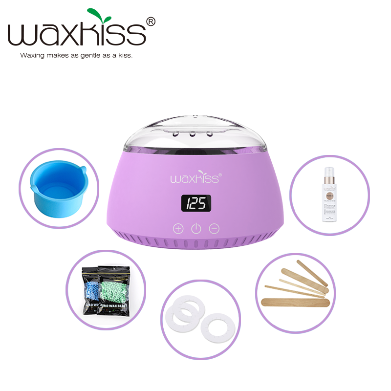 Fashionable Wax Heater Hair Removal LCD Digtital Wax Heater Functional Pro Wax Heater With Best Thermostat