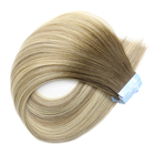 Hair Remy Extensions Russian Tape In Extensible Human Hair Raw Double Drawn Cuticle Aligned 100% Remy Human Double Side Tape In Hair Extensions
