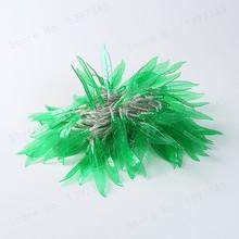 10 м 100 светодиодный зеленый лист ивы для улицы гирлянда сказочные огни для отдыха спальни домашние вечерние Рождественские елки(Китай)