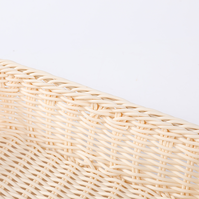 Пластиковая корзина для хранения фруктов из ротанга с изображением хлеба, китайская фабрика