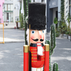 For Factories Nutcracker Life Size 1.5M Nutcracker Solider For Christmas Decoration