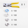 100 sets blue + tool