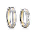 Wedding Rings Rings Wedding Wedding Ring Custom Names Engraved Golden Wedding Rings