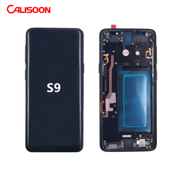 S8 mobile phone LCD touch Screen For Samsung Galaxy S2 S3 S4 S5 S6 S7 S8 S9 S10 Plus S6 S7 Edge Plus Display with frame