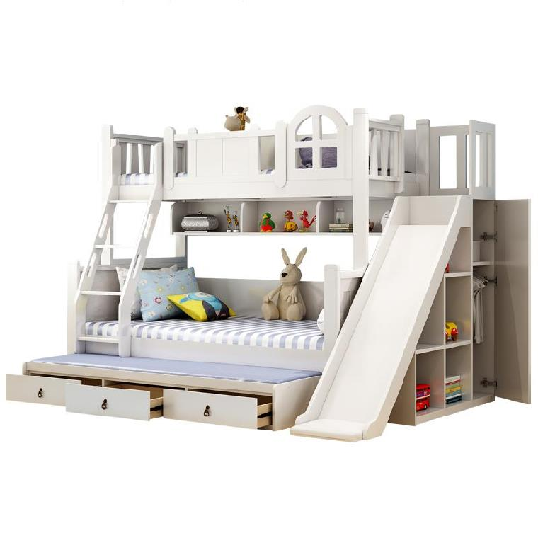 Bunk Bed Slide Bed Children Bedroom Furniture Solid Wood Modern Ladder Cabinet Bed With Slide Buy Bunk Bed Children Bedroom Furniture Bed With Slide Product On Alibaba Com