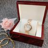 Rose gold white