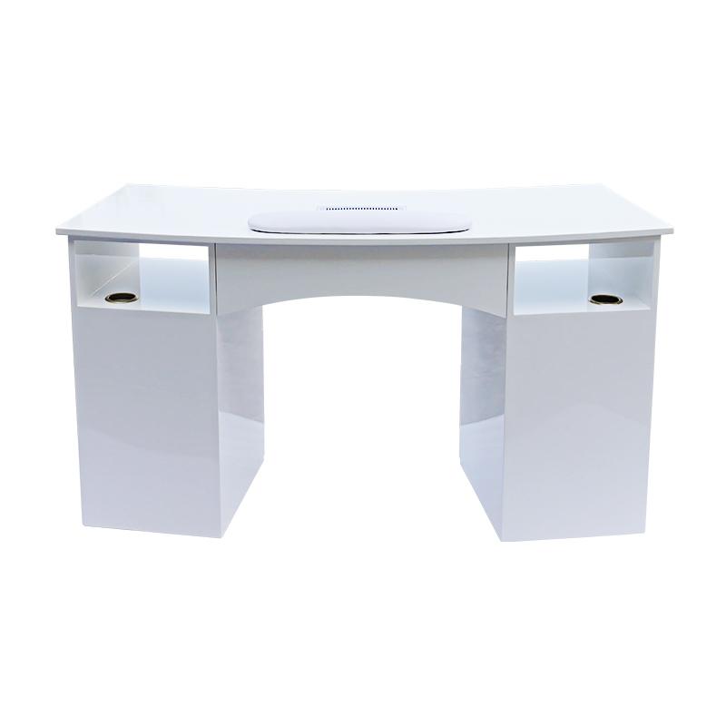 modern white beauty salon nail table TS-7311
