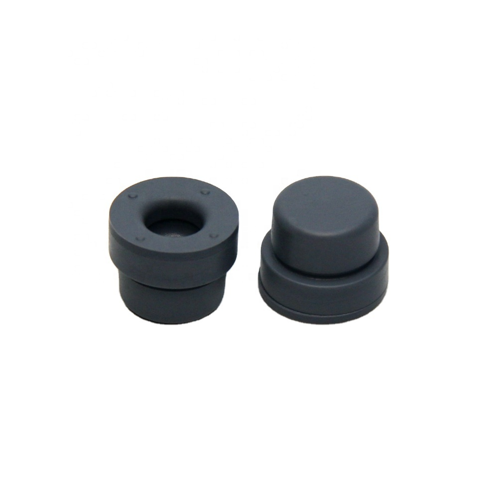 Bromo Butyl Rubber Stopper for Vacuum Blood Collection Tube Size 13 mm