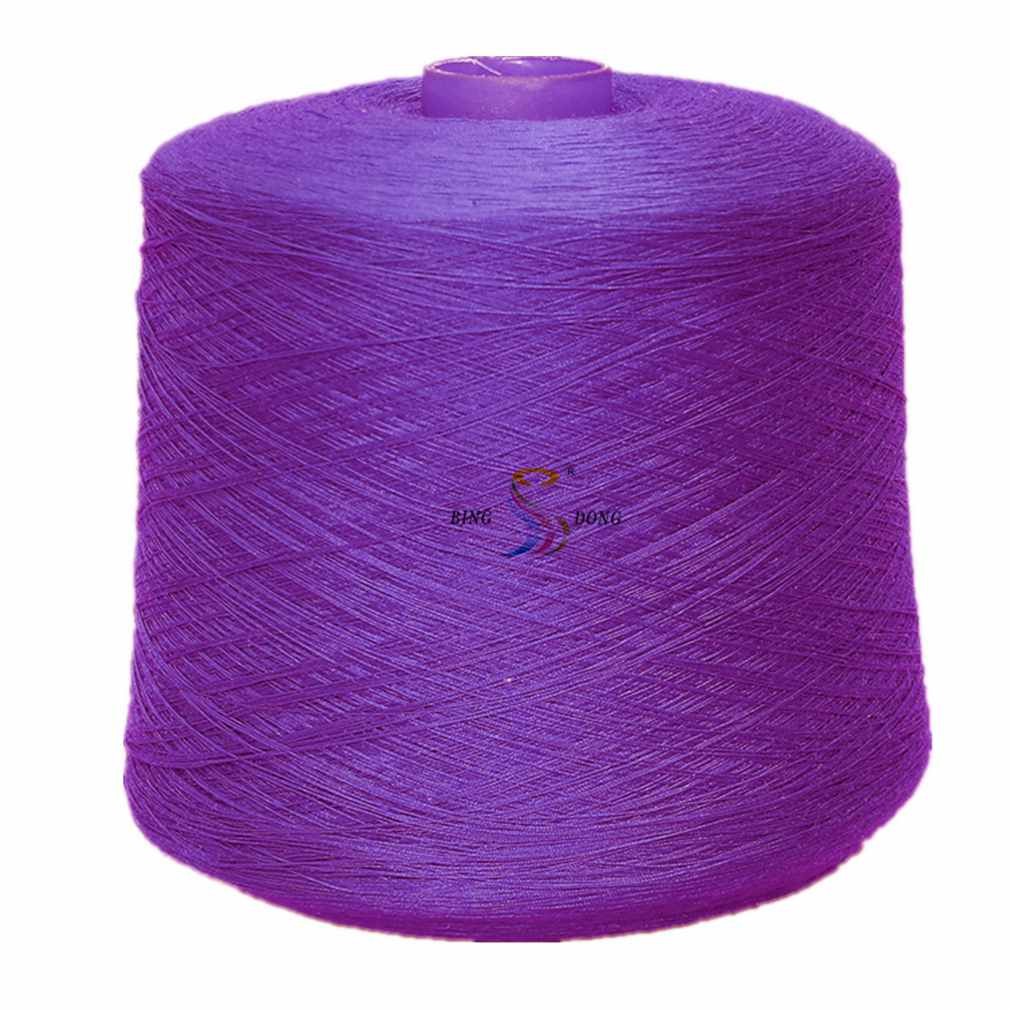 eco-friendly water dyed 100% polyester spun yarn in many colors 20/2
