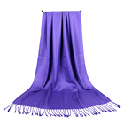 Shawl Shawls Pashmina Shawl Scarf Fashion Women Twill Solid Color Viscose Wedding Pashmina Hijab Shawl Scarf