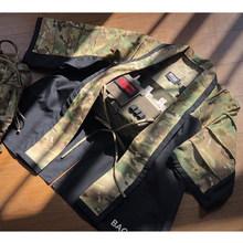 Тактическое пальто BACRAFT, тренировочный плащ, армейская куртка Haori- (MC + Black) M/L(Китай)