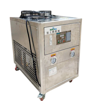 food industry stainless steel cold water chiller 3hp chiller units for sale