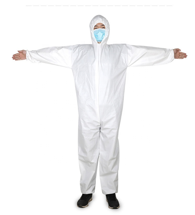 Wholesale disposable coverall suits overalls disposable with hood cat 3 type 5/6 coverall - KingCare | KingCare.net