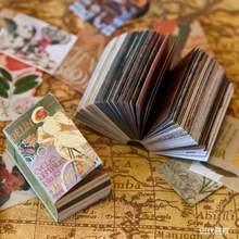 Винтажный блокнот из крафт-бумаги для скрапбукинга, создания карт, журнального проекта, украшения для дневника, ломо-карты(Китай)