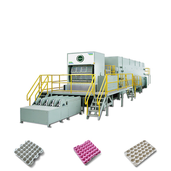 disposable paper egg carton egg tray production line by HGHY