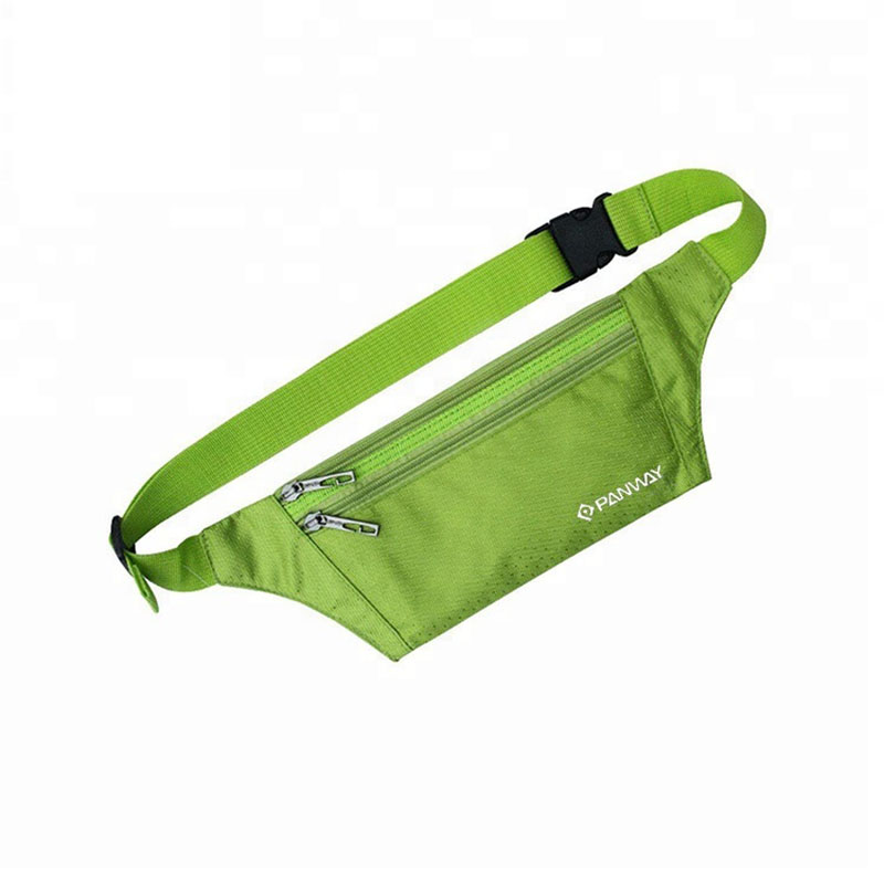 Jogging Sport waist bag New Design Custom logo Waterproof  fashion adjustable belt travel sport unisex Waist Belt Bag