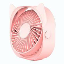 Мини-вентилятор охлаждения 360, 3 цвета, портативные настольные USB-вентиляторы, 3 скорости, летние Охлаждающие вентиляторы для офиса, автомоби...(Китай)