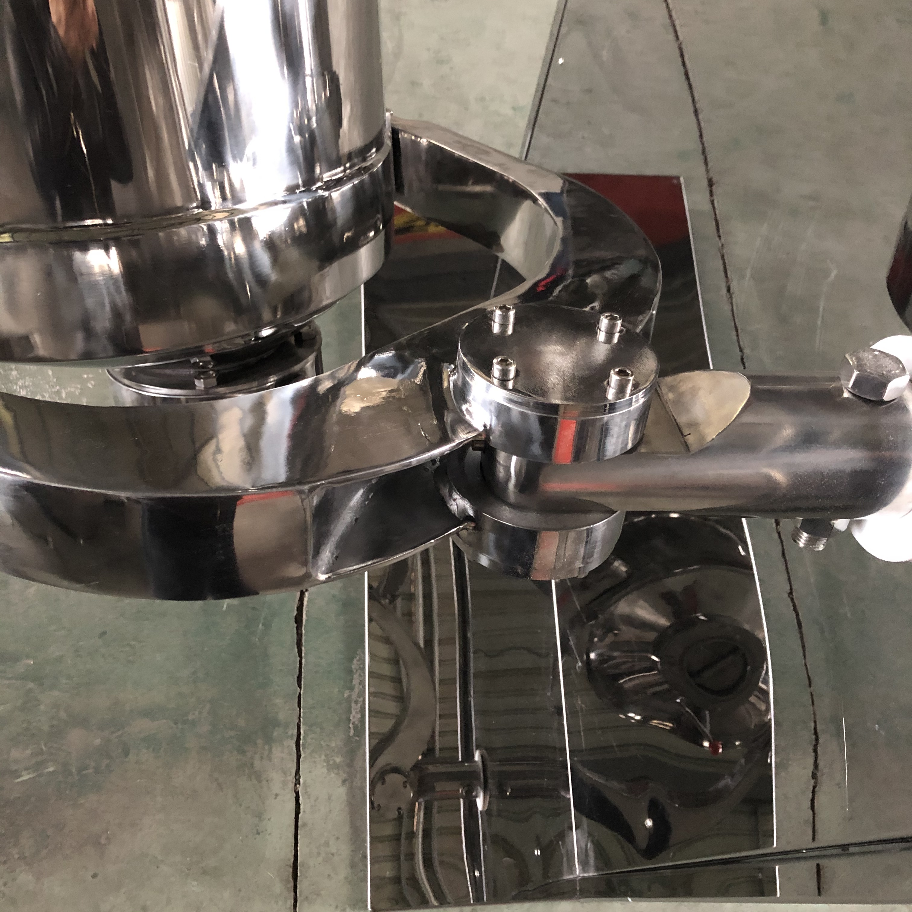 Homeused Small Capacity Automatic 3D Powder Mixer Three Dimension Blender Mixing Machine
