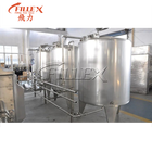 Cleaning Juice CIP Stainless Steel Cleaning Tank Juice Milk Beer Beverage Cleaning System CIP Clean Equipment