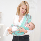 Custom bags carrying baby 6 in 1 detachable hip seat wrap baby carrier
