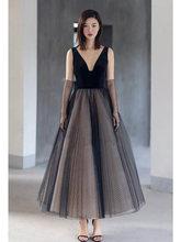 Женское вечернее платье It's Yiiya, черное платье без рукавов с v-образным вырезом и открытой спиной размера плюс, E777, 2019(Китай)