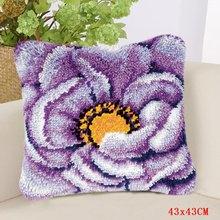 Smyrna Foamiran большой цветочный крючок для рукоделия, сделай сам, ковер, вышитая подушка, подушка, набор кнопок, посылка(Китай)